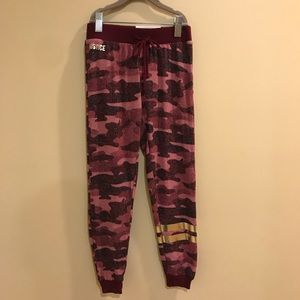 Justice Girls Sz 6/7 Supersoft Camo Jogger Pant